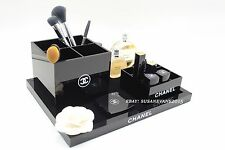 ~ Chanel Set of 3 Vanity Cosmetic Organizers VIP Gift New in Box ~