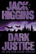 *BRAND NEW* Dark Justice by Jack Higgins Hardback 2004