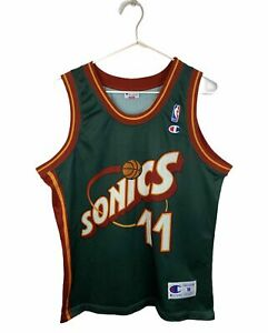 Vintage NBA Seattle SuperSonics Trikot
