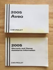 chevrolet aveo 2005 owners manual