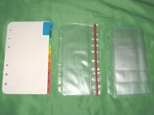 Pocket Tab Page Amp Accessory Lot Franklin Covey Planner Refill Fill Set 240
