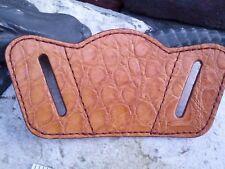 Wild Alligator Leather Universal Pistol Revolver Handgun Holster gator skin F17