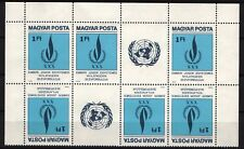 Hungary 1979. Bill of Right stamp in 2 stips in TETE-BECHE PAIRS MNH (**)