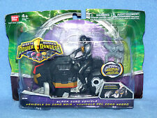 Power Rangers Mighty Morphin 2010 Negro Dino Zord + Ranger