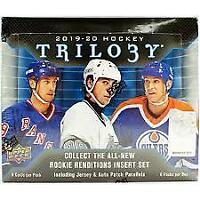 2019-20 Upper Deck Trilogy Hockey Hobby Box Break random team plus booster box