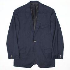 Hugo Boss Pasini2 Movie2 Mens Suit 40R 36x32 Navy Blue Pinstripe Wool Coat Pants