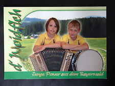 "Kontaktkarte: "" d`Woidfleh ""- Bayrisch - Junge Power aus dem Bayerwald"