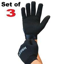 3 Pair Of Work Gloves Men Mechanics