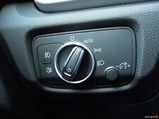 AUDI a3 8v Cabrio a6 4g q2 ga aluring ALLUMINIO interruttore della luce QUATTRO S-LINE rs3 rs6