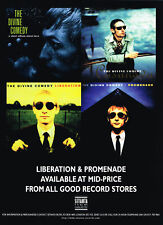 The Divine Comedy - Liberation & Promenade Original Magazine Music Advert 1997