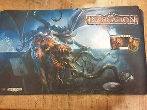 Arkham Horror Card game 2017 Invocation Playmat & Promo Cards