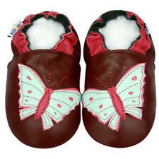 Freeship Littleoneshoes Soft Sole Leather Baby Infant Kid Butterfly Shoes 6-12M