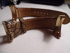 Retired Pandora Brown Leather Imagine Watch Band 882041BN