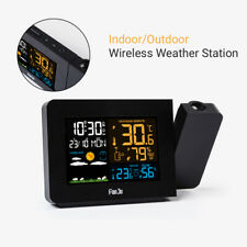 Wireless Weather Station Digital Thermometer Home Outdoor Temperature Barometer