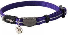 ROGZ Alleycat Safelock Collar Purple 11mm