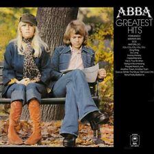 ABBA Greatest Hits Vinyl Record LP Epic S EPC 69218 1976 Yellow Label 1st Press