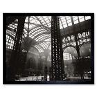 Berenice Abbott Interior Penn Station New York Photo Framed Wall Art Poster