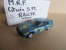 783H Rare Kit MRF Citroën SM Proto # 15 Bandama 1973 1:43