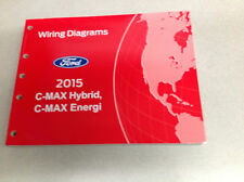 2015 Ford C-Max Hybrid C-Max Energi Electrical Wiring Diagram Manual OEM Factory