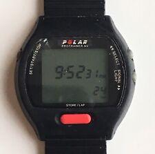 VINTAGE POLAR PROTRAINER (BG-750/T415C) BLACK DIGITAL WATCH (AS-IS)