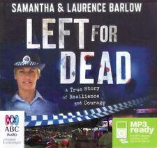 Samantha & Laurence BARLOW / LEFT for DEAD        [ Audiobook ]