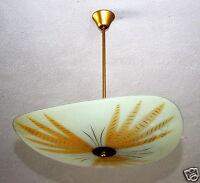 Deckenlampe Tellerlampe Lampe Hängelampe 2x E 27, 50er