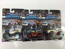 MUSCLE MACHINES MONSTER TRUCK 1/72 SCALE DIE CAST FORD BIGFOOT & Samson lot
