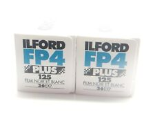 2 x Ilford FP4 Plus 125 35mm EXP BASSO B&W Pellicola per 1st Class Royal Mail