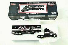 Dale Earnhardt Racing Champions Limited Edition 1:64 Transporter Diecast Bank