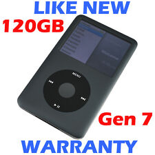 Apple IPOD CLASSIC - 7th Generation / 7G - 120GB - Grey - Refurbished like new!