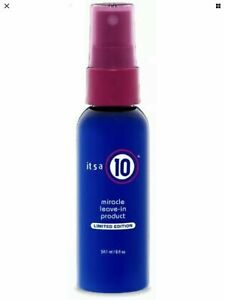 IT'S A 10 MIRACLE LEAVE IN PRODUCT LIMITED EDITION 59.1ml. APPROVED SUPPLIER