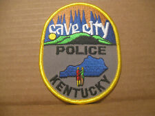 CAVE CITY KENTUCKY POLICE PATCH