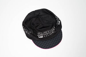New 2017 Unisex Hincapie Racing Team Mesh Cycling Cap, Black, One Size