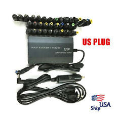 Power Supply Ac/Dc12V Adapter Universal Laptop Notebook Home Car Charger Us Plug
