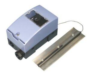 Rauchgasthermostat mit Anlegeblech Abgaswächter Abgasthermostat 40-160°C