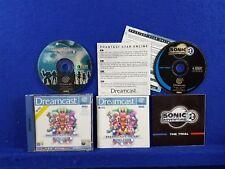 Sega Dreamcast PHANTASY STAR ONLINE Game Boxed & Complete Multiplayer PAL