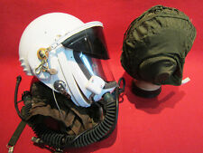 Flight Helmet High Altitude Astronaut Space Pilots Pressured + FLIGHT  HAT