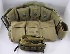WWII Double Strap Ammo Belt + Extras,  KE17