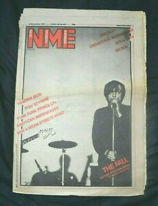 NME Music Magazine 14/11/81 November 14th 1981 The Fall Elvis Costello OMD