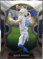 2020 Select Football Justin Herbert Concourse Rookie Chargers RC #44