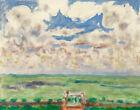 Pierre Bonnard Terrace And Balcony Canvas Print 16 x 20   # 4170