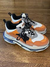 BALENCIAGA Men's Triple S Sneaker Size 45 US 12! No Reserve!