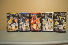 Lego Bionicle Stars Set of 5,7116,7135,7136,7137,7138 NIB Unopened Sealed Golden