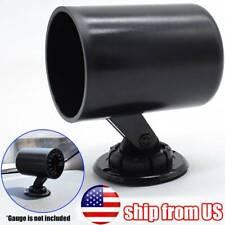 Universal Abs Turbo Boost Temp Press 52mm 2 Single Hole Gauge Holder Pod Pillar