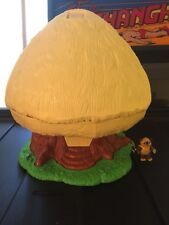 Vintage Kenner Ewok Family Tree Hut Playset w/ Wicket Figure