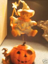 Cherished Teddies MERLE  Halloween is pure magic  jack-o lantern  4023729 2011