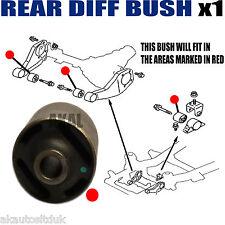 FOR MITSUBISHI L200 2.5 TD / Di-D 2005> REAR DIFF / DIFFERENTIAL MOUNTING BUSH 1