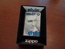 "ELVIS PRESLEY ""BLUE"" #24545 ZIPPO LIGHTER MINT IN BOX"