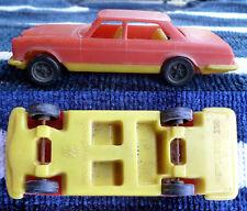 MERCEDES 205 AUTOMODELLINO MADE IN MONACO SCALA 1/48 PLASTICA ROSSO/GIALLO