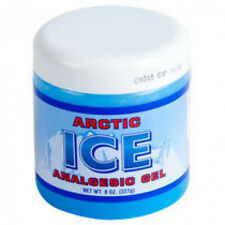 Arctic Ice Analgesic Gel, 8 oz. menthol muscle rub
